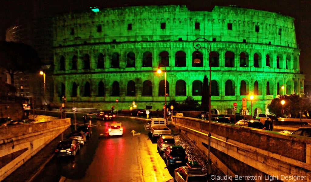 Rome in the spotlight
