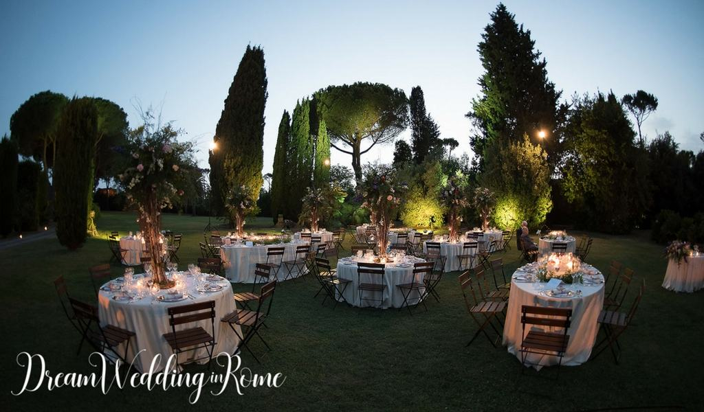 spring wedding in Rome
