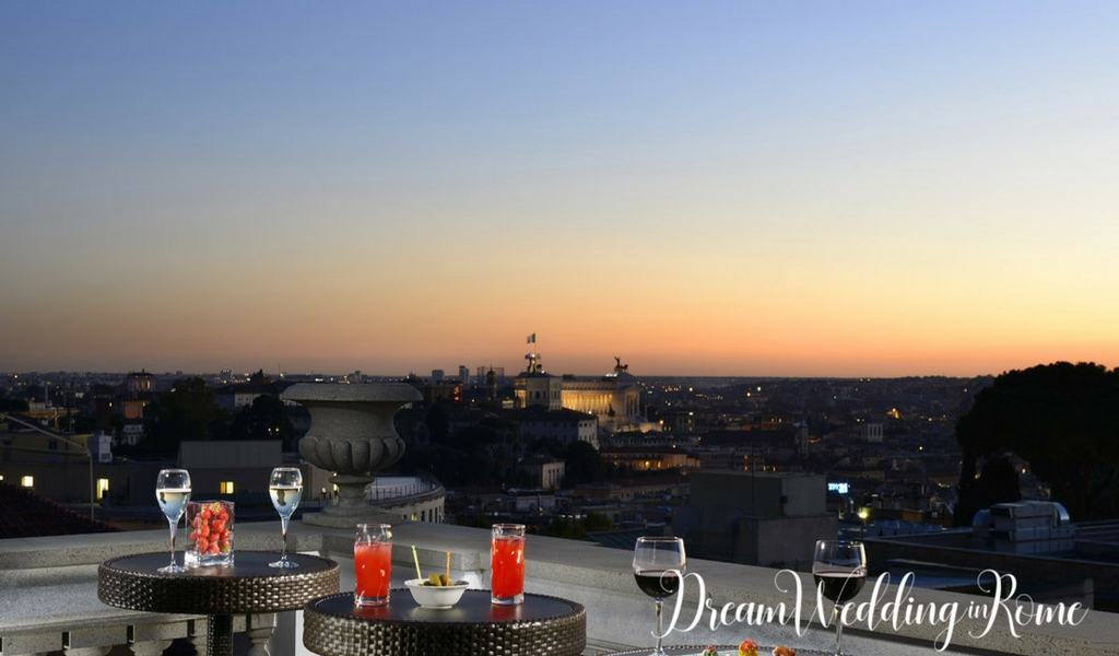 best roof garden in Rome