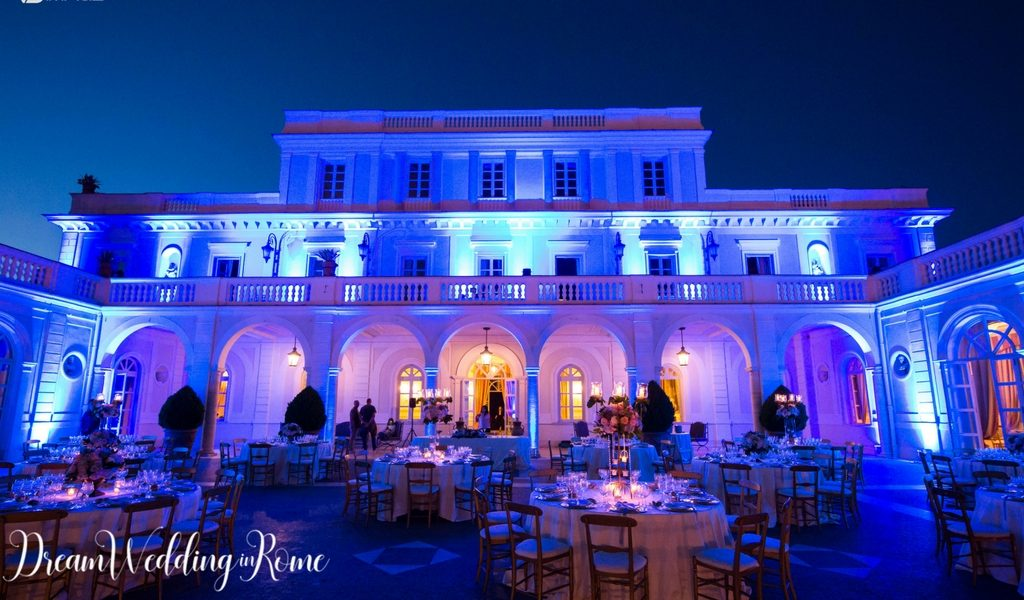 luxury wedding in villa miani