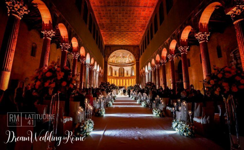 winter wedding in Rome